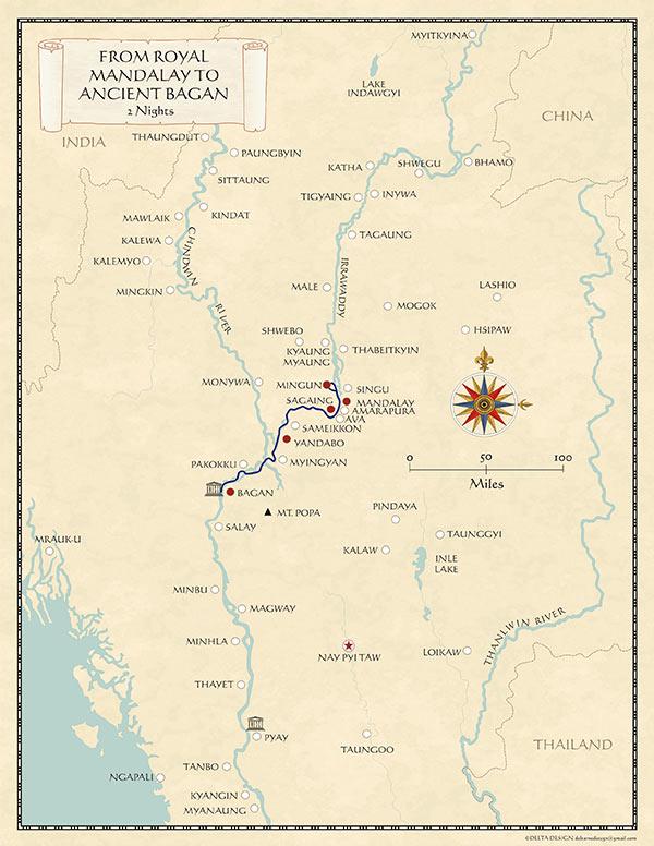 Ayravata Cruises (Paukan Cruises) on bandar seri begawan map, mekong river map, bangkok map, yangtze river map, burma map, taipei map, hong kong map, taiohae map, bumthang map, hanoi map, myanmar map, kuala lumpur map, islamabad map, naypyidaw map, murang'a map, vientiane map, manila map, rangoon map, jakarta map, great wall of china map,